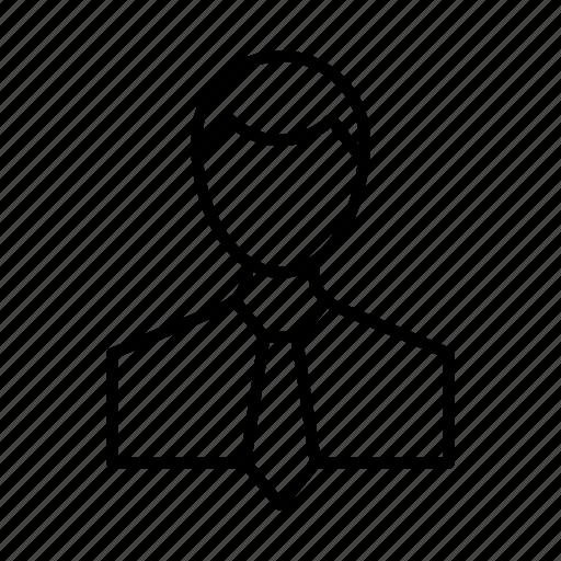 account, avatar, businessman, person, profile, user icon
