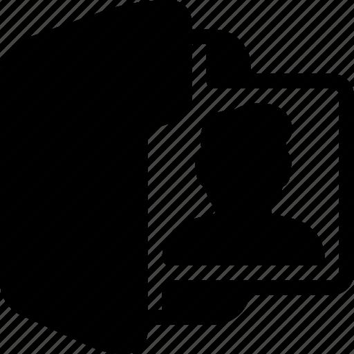 folder, male, person, profile, user icon