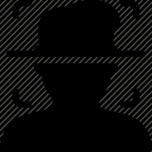 cap, frame, hat, picture, portrait icon