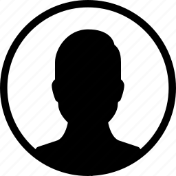 circle, male, man, person, user icon