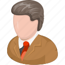 business, customer, finance, man, marketing, office, people icon