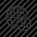 account, avatar, profile, public, user icon