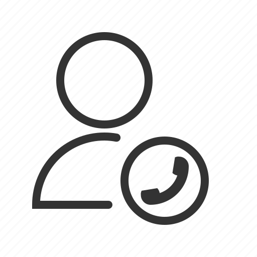 account, avatar, call, phone, profile, user icon