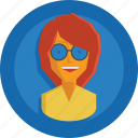 avatar, girl, people, person, team, team member, testimonial, user, woman icon