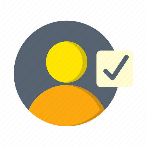 Account, avatar, check, profile, select, user icon - Download on Iconfinder