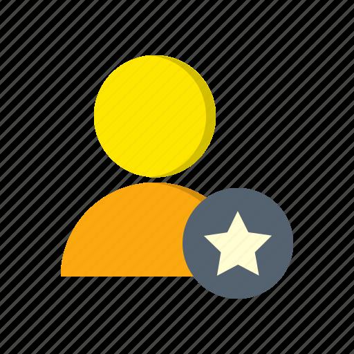 account, avatar, favorite, profile, star, user icon