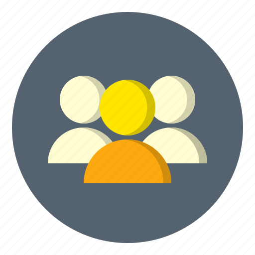 account, avatar, group, profile, user icon