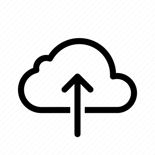 cloud, computing, data, database, server, storage, upload icon
