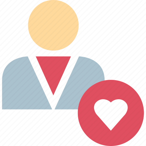 health, heart, person, user icon