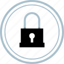 dark, lock, secure, security icon