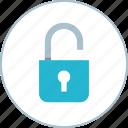 lock, online, unlock icon
