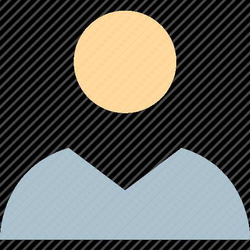 business, person, user icon