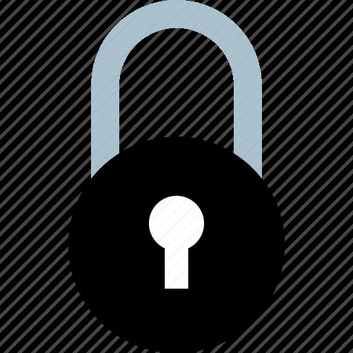 lock, locked, safe, secured icon