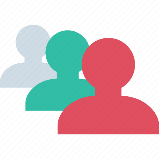 people, three, users icon
