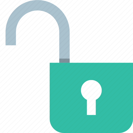 Not, secured, unlock, unlocked icon - Download on Iconfinder