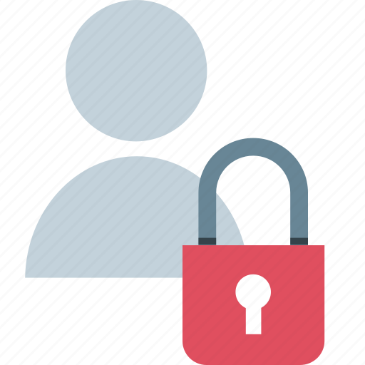 lock, people, person, user icon