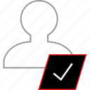 check, mark, ok, safe icon