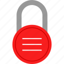 lines, lock, locker, security icon
