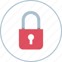 lock, locked, secure icon