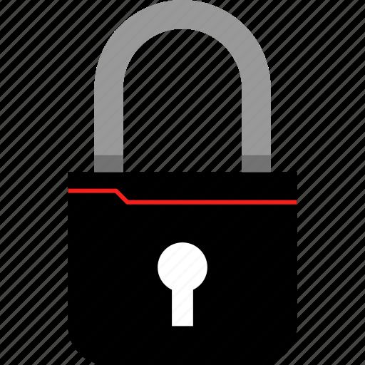 interface, lock, user, ux icon