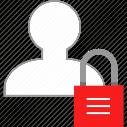 avatar, lock, locker, user icon