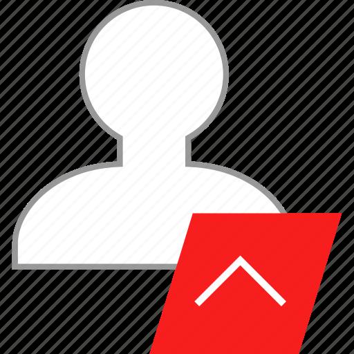 avatar, up, upload, user icon