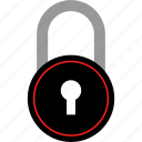 experience, lock, locker, user icon