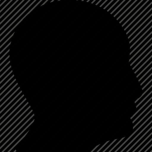 head, people, person, profile, user icon