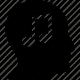 audio, music, people, person, profile icon