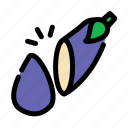 cabbage, chop, cooking, food, slice, vegetables icon