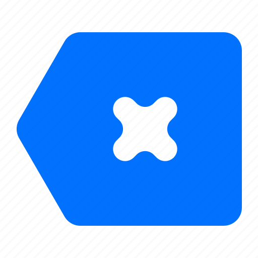 back, backspace, delete, remove icon