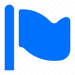 flag, flagged, target icon