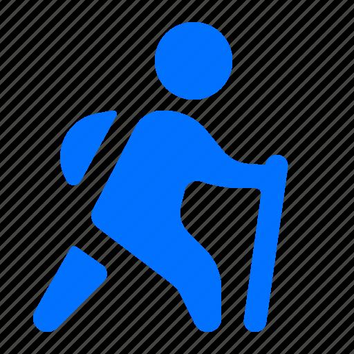 exercise, hiking, walk, workout icon