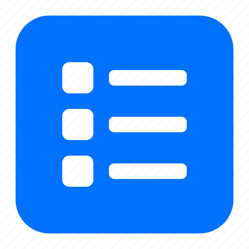 checklist, list, multiple icon
