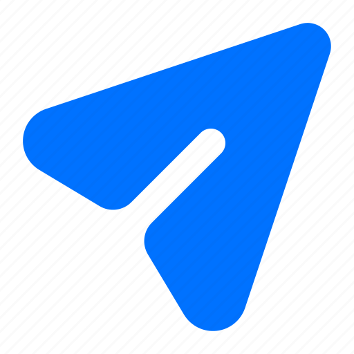 airplane, message, paper icon