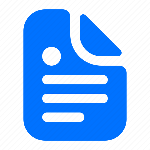 Document, file, page, text icon - Download on Iconfinder