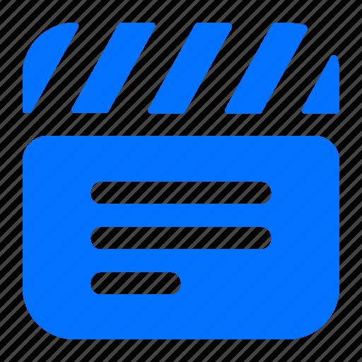 entertainment, movie, multimedia, video icon