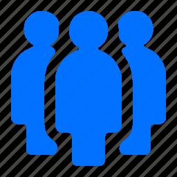 group, people, team, three icon