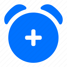 add, alarm, create, new icon