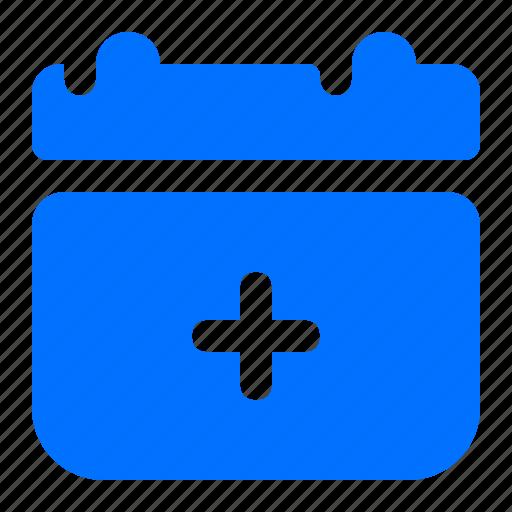 add, calendar, create, new icon