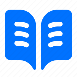 book, ebook, newsletter icon