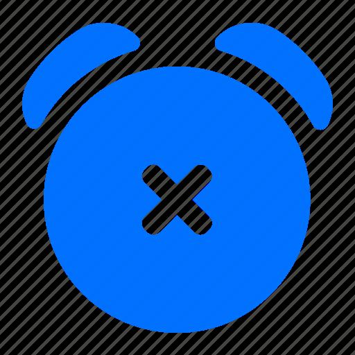 alarm, cancel, delete, remove icon
