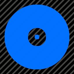 cd, disk, storage icon