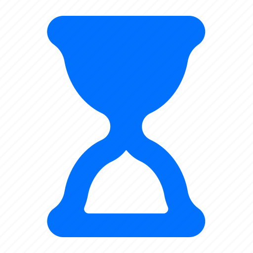 full, hourglass, time, timer icon