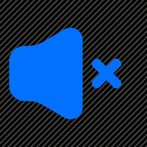 audio, mute, sound icon