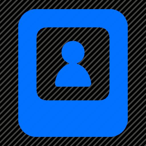 account, man, profile, user icon