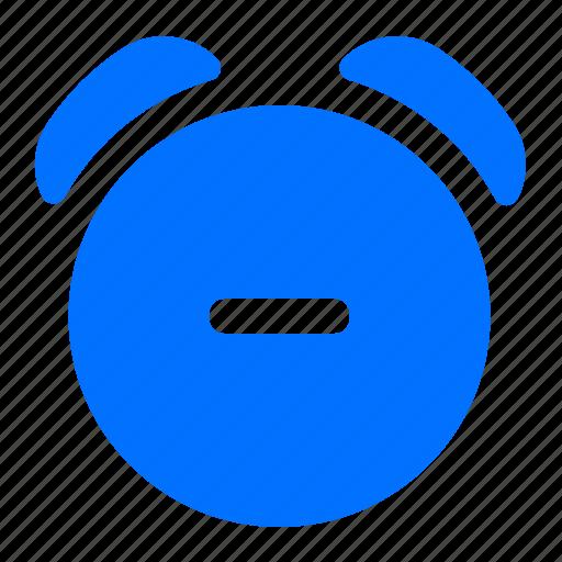 alarm, clock, delete, remove icon