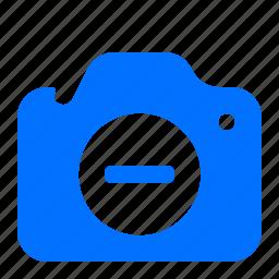 camera, delete, image, remove icon
