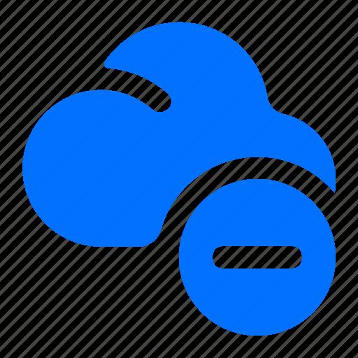 cloud, delete, remove, storage icon