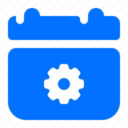 calendar, options, preferences, settings icon